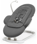 Stokke Steps Bouncer White Deep Grey