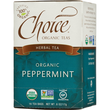 Choice Organic Teas Peppermint Tea