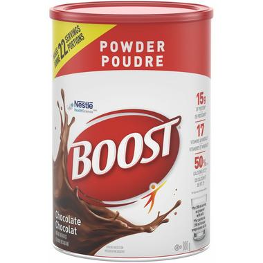 Boost Powder Chocolate Drink Mix
