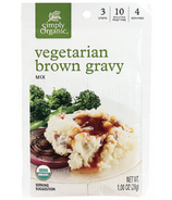 Simply Organic Vegetarian Brown Gravy Mix