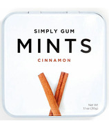 Simply Gum Cinnamon Natural Mints