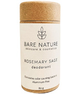 Bare Nature Products Deodorant Rosemary Sage Compostable