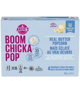 Angie's Boom Chicka Pop maïs soufflé au vrai beurre en bol pour micro ondes