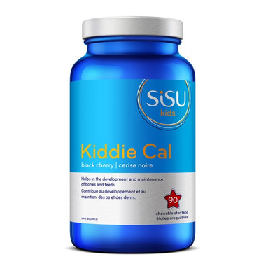 SISU Kiddie Cal Chewable Calcium Cherry