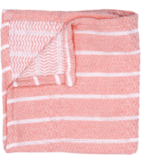 House of Jude Turkish Wash Cloth Blush