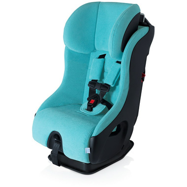 Clek Fllo Convertible Car Seat Capri with Anti-Rebound Bar with Black Shell