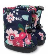 Stonz Toddler Booties Wildflower Navy