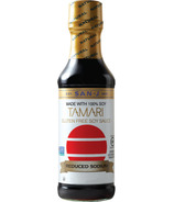 San-J Gluten Free Reduced Sodium Tamari Soy Sauce Large