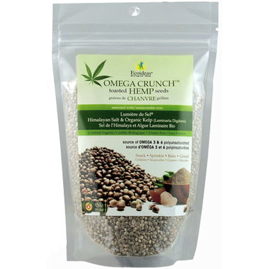 Nutri Crunch Organic Kelp Toasted Hemp Seeds