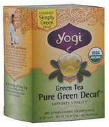 Yogi Tea Green Tea Pure Green Decaf