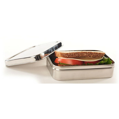 ECOlunchbox Solo Rectangle Stainless Steel Container