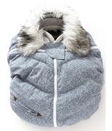 Juddlies Infant Car Seat Cover Salt & Pepper Grey