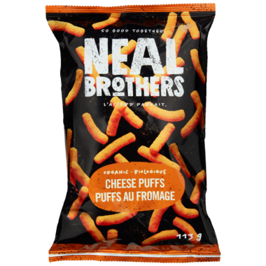 Neal Brothers Organic Cheese Puffs