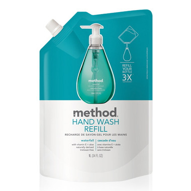 Method Gel Hand Wash Refill Waterfall