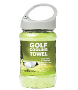 Upper Canada Cooling Garden Golf Towel in Green