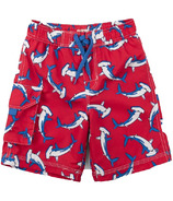 Hatley Loop-The-Looping Hammerheads Board Shorts