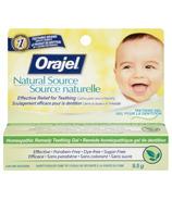 Orajel Naturals Teething Gel