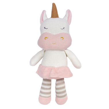 Living Textiles Pink Unicorn Kenzie