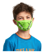 Hatley Non-Medical Reusable Kids Face Mask Crocodile