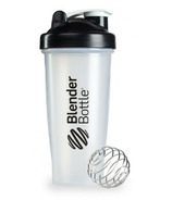Blender Bottle Classic Large Black Clear