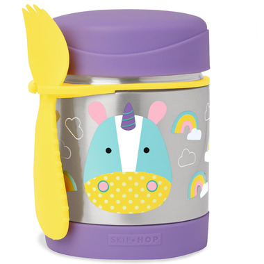 Skip Hop Zoo Insulated Food Jar Unicorn
