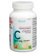 Rexall Vitamin C 500mg Chewable Orange