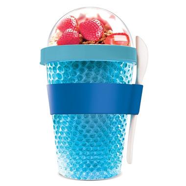 Asobu Chill Yo 2 Go Double Wall Yogurt Container in Blue