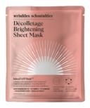 Wrinkles Schminkles InfuseFAST Decolletage Brightening Sheet Mask