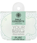 DAILY CONCEPTS All Natural Baby Fish Konjac Sponge Pure
