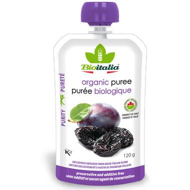Bioitalia Plum Organic Puree Smoothie