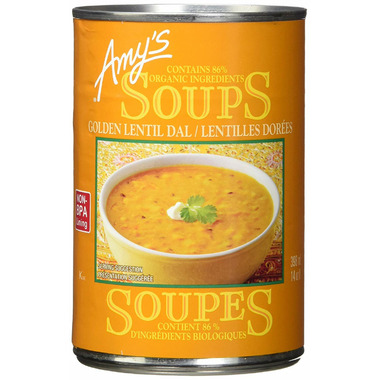 Amy\'s Organic Indian Golden Lentil Soup