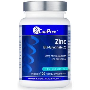 CanPrev Zinc Bis-Glycinate 25
