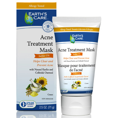 Earth\'s Care Acne Treatment Mask