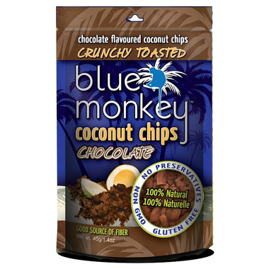 Blue Monkey Dark Chocolate Coconut Chips