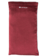Halfmoon Silk Eye Pillow Garnet