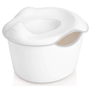 Ubbi 3-in-1 Potty White & Grey