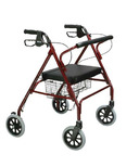 Drive Medical Steel Rollator with Loop Locks