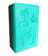 Supported Soul Eva Patterned Foam Block Palm Tree