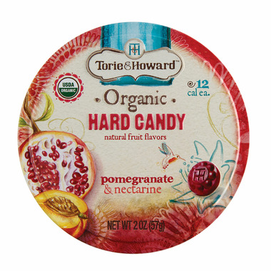 Torie & Howard Organic Hard Candy Tin