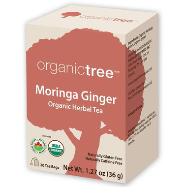 OrganicTree Organic Moringa Ginger tea