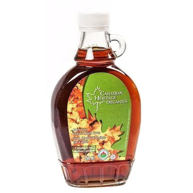 Canadian Heritage Organics Amber Maple Syrup Small