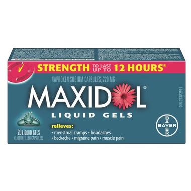 Maxidol Liquid Gels