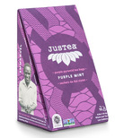 JusTea Purple Pyramid Tea Bags Purple Mint