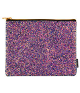 Fashion Angels Chunky Glitter Pouch Midnight
