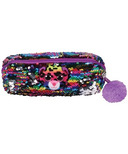 Ty Flippables Dotty the Leopard Sequin Pencil Bag