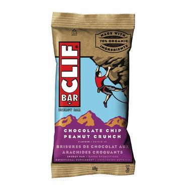 Clif Bar Chocolate Chip Peanut Crunch Energy Bars