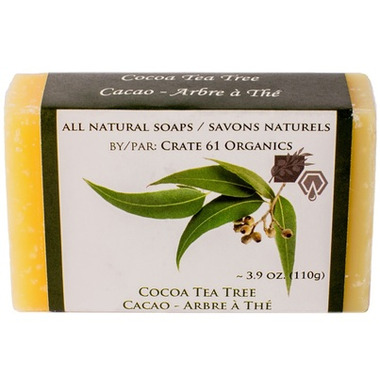 Crate 61 Organics Cocoa Tea Tree Soap