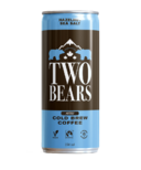 Two Bears Cold Brew Coffee Hazelnut Sea Salt