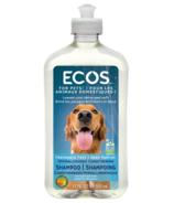Shampooing hypoallergénique non parfumé pour animal de compagnie d'ECOS
