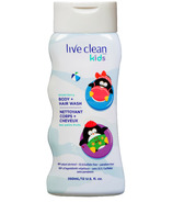 Live Clean Kids Body + Hair Wash Mixed Berry